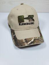 Kawasaki Camouflage Hat One Size Cap  Strapback- New no tags