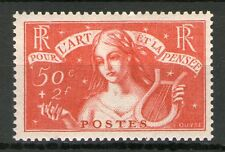 TIMBRE N° 308  NEUF ** CHOMEURS - SIGNE ROUMET - GOMME ORIGINALE TB.