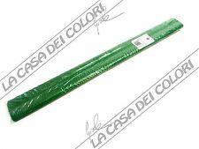 CART. ROSSI - CRESPATA SUPER - 50cm x 2,5m - 60g - VERDE SCURO - CARTA CRESPA
