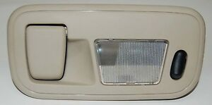 1999-2003 Ford Windstar Courtesy Light Hanger Tan 3rd Row Right Side Dome Light