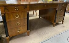 Beautiful Vintage Executive Style Baker Furniture Desk Rare*Excellent Condition