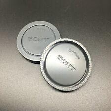 1x Rear Lens Cap +1x Front Body Cap for Sony E-mount NEX3/5/6/7 A6000 A7 A7R A7S