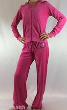 Juicy Couture Velour Set Tracksuit Hoodie Pants Pink Size Large L