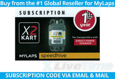 MyLaps X2 Subscription 1-year Renewal Card for Kart Direct Power Transponder