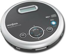 Insignia Portable CD Player with FM Tuner & MP3 Playback - Black- with Batteries