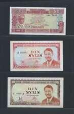 Guinée Lot de 3 billets différents  en état NEUF   Lot N° 4