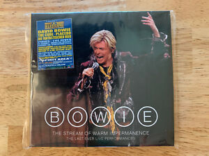 DAVID BOWIE - RARE DOUBLE CD THE STREAM OF WARM IMPERMANENCE