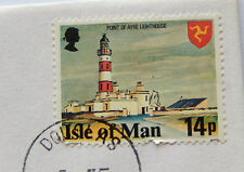 1978 Isle of Man Stamp & 10 Pence Coin BU Mint Collector Set  SB5530