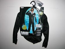 NWT NEW Halloween Costume 4-6 S Child Men in Black MIB 3
