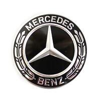 Mercedes-Benz Nabenkappe Raddeckel Nabendeckel schwarz Lorbeerkranz A2224002200