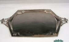Argentor Austrian Silver Plated Serving Tray Ca 1920