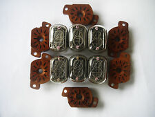 Lot of 6 IN-12B IN12B IN12 B + NEW Socket Nixie Tubes for clock Made in USSR