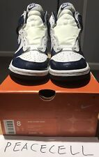 2002 Nike Dunk High Footaction Exclusive Midnight Navy SZ 8