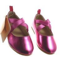 Gymboree Baby Toddler Girls Pink Purple Ballet Flat Slip On Shoes NEW Tags 4