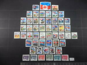 Lighthouses and Flags Stamps from Canada Lot Lf6