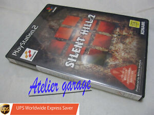W/Tracking. USED Sony PlayStation 2 PS2 KONAMI Silent Hill 2 Japanese Version