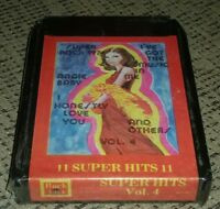 SUPER HITS VOL 4 8-Track Tape FACTORY SEALED BRAND NEW 1977 PAR MUSIC COMPANY