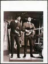 THE BEATLES POSTER PAGE 1963 LENNON & MCCARTNEY READY STEADY GO! APPEARANCE .U22