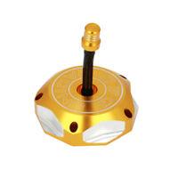 Gold Billet Gas Fuel Tank Cap Cover For Suzuki RMZ250 DRZ125 DRZ400 DRZ400E