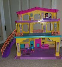 Dora The Explorer Talking Folding Dollhouse W Furniture & Figures