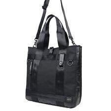 PORTER HEAT 2WAY TOTE BAG 703-07965 Yoshida Bag Black Japan Import Fast Shipping