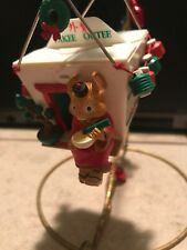 Enesco Christmas Ornament: Christmas To Go: Chinese Take Out w/Mouse New