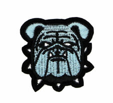 """BULLDOG PATCH, BULL-DOG EMBROIDERD PATCH, BULL DOG APPLIQUE, 2""""X2"""" (SUD-373)"""