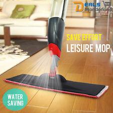 New Spray Microfiber Flat Mop Cleaner Home Floor Bath Kitchen Sweeper Broom