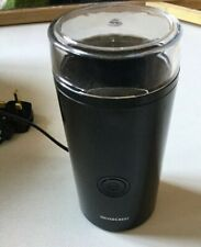 Silvercrast Coffee Bean Grinder 180w Used Once Mint - Boxed