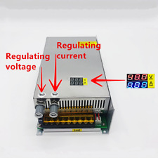 220VACTo DC 0-48VDC 1000W 20A Switch Power Supply Voltage and Current Adjusted H