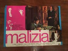 FOTOBUSTA,1973 MALIZIA LAURA ANTONELLI SALVATORE SAMPERI,SEXY 1 EDIZ.