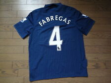 SALE! Arsenal #4 Cesc Fabregas 100% Original Jersey 2009/10 L Good Condition