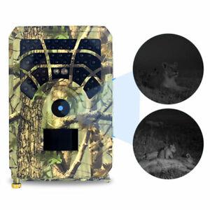 PR300A Outdoor Camera 12MP 720P 120 Degrees PIR Sensor Wildlife Trail Cam EH