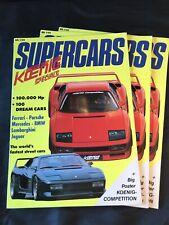 KOENIG SPECIALS SUPERCARS / ORIGINAL PROMOTION MAGAZINE