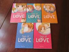SIGN OF LOVE - Intégrale en 5 mangas