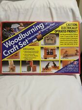 Vintage 1993 168 Woodburning Craft Set Featuring Atf WonderPen New In Box Sealed