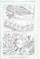DC Universe Online Legends #2 p14  Green Lantern Flash super-powers in action!
