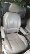 1999 FORD WINDSTAR RIGHT PASS REAR 2ND SECOND ROW BUCKET SEAT LEATHER GRAY 99-03