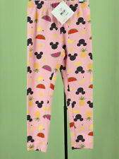 336 NWT Hanna Andersson DISNEY pink Mickey Minnie pants fruits 100cm NEW Size 4T