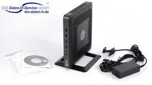 HP t620 Thin Client, ThinPRO 1,5GHz Quadcore, 4GB DDR3, 8GB M.2 SSD, USB 3.0 OVP
