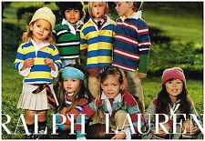 Publicité Advertising 2005 (2 pages) Les Vetements pour enfants Ralph Lauren