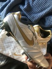 Nike R10 Tiempo Legend 7 Elite Ronaldinho Cleats 400/1000 PAIRS Size 9.5 IN HAND