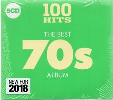 100 Hits-The Best 70's Album - Various Artists (CD 2018)  As New