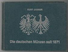* JAEGER, Deutschen Münzen seit 1871, monnaies allemandes depuis 1871, 1973