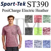 Sport Tek ST390 PosiCharge Electric Heather Dri-Fit Tee