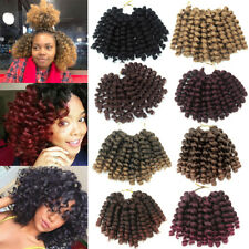 Jumpy Wand Curl Jamaican Bounce Curly Hair Twist Crochet Braids Synthetic Hair