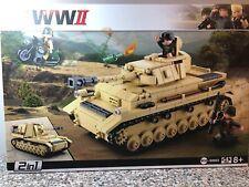 Sluban ® Deutscher Panzer inkl. Figuren - Neu + OVP - Bausteine - bricks - B0693