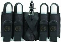 New Tippmann Sport Series 4+1 Paintball Pod Harness / Pack w/ Tank Holder  Black