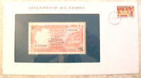 Banknotes of All Nations Sri Lanka 1982 5 Rupees P91 UNC Prefix A/21