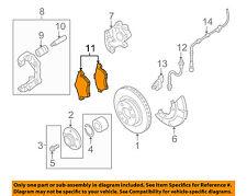 AUDI OEM 00-06 TT Brake-Front Pads 1J0698151M
